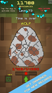 Mine Egg Craft Idle Clicker Evolution - náhled