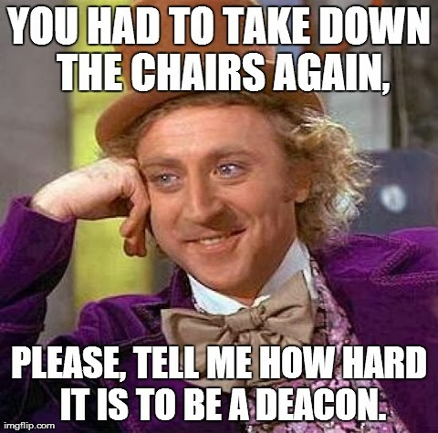 how hard is it to be a deacon