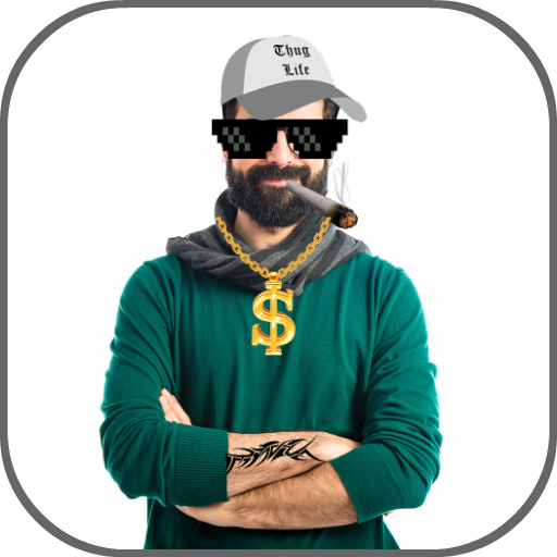 Thug Life Photo Editor: Stickers & Picture Maker Icon