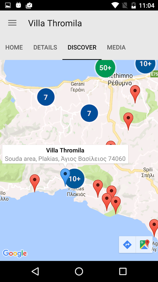 Villa Thromila- screenshot