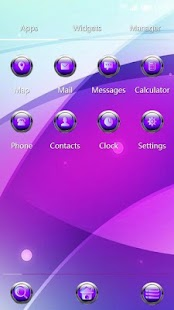 Download free Glaring contracted 91 Launcher Theme for PC on Windows and Mac apk screenshot 2