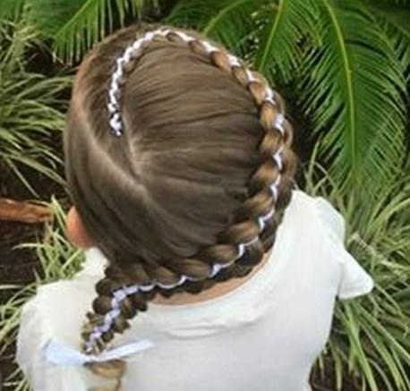 Little Girl Hairstyle Tutorial Android Apps On Google Play - Girl hairstyle photo download
