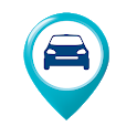Find my parked car: The parking spot, gps, maps icon