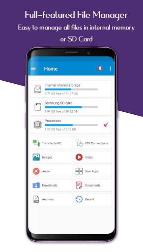 File Manager - Easy file explorer & file transfer 2.0.3 screenshots 1