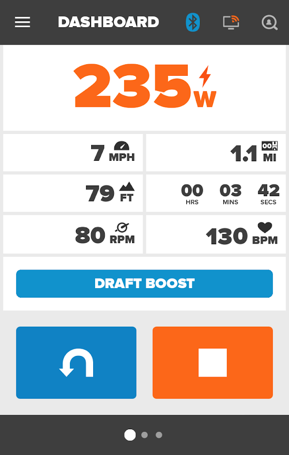 Zwift Mobile Link- screenshot