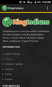 Kingindians Online Shopping screenshot 3