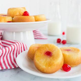 Mini Pineapple Upside Down Cakes