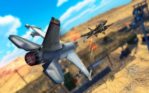 VR Ciel Air Bataille - Carton Jeux de VR aérien  captures d'écran 2