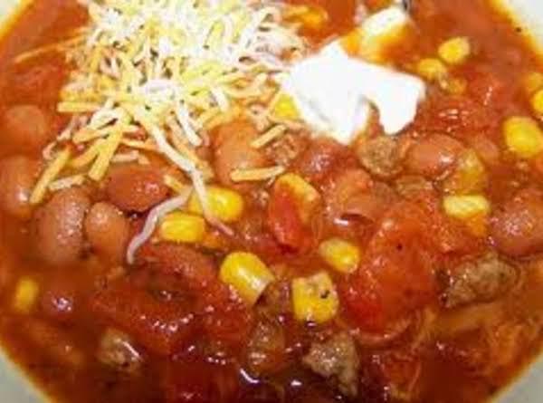 Taco Soup (crockpot) Recipe