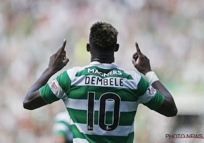 Moussa Dembélé scoort een hattrick op twaalf minuten tijd voor de Franse beloften