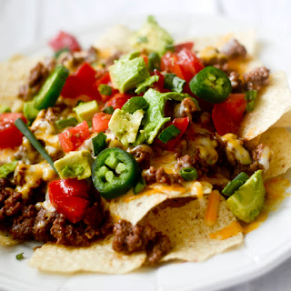 Beefy Cheesy Nachos