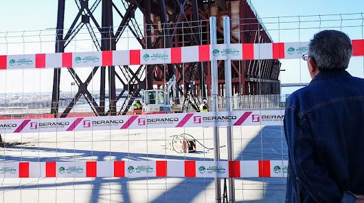 Comienzan las obras de restauración del Cable Inglés