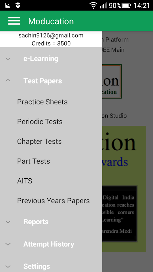 NEET JEE Main Advanced Tests- screenshot
