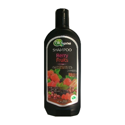 champu biorganic organical berry fruits 350ml
