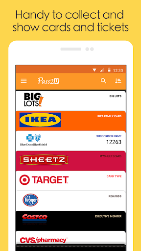 Pass2U Wallet - store cards, coupons, & barcodes  screenshots 5