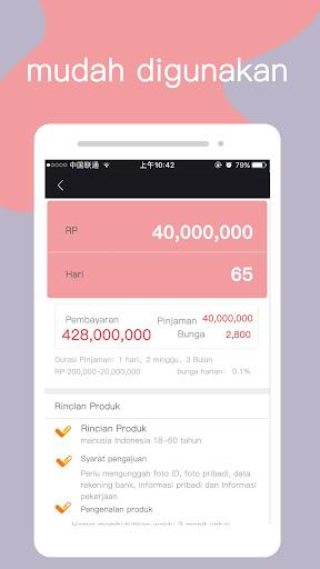 Angel pinjam uang screenshot 2