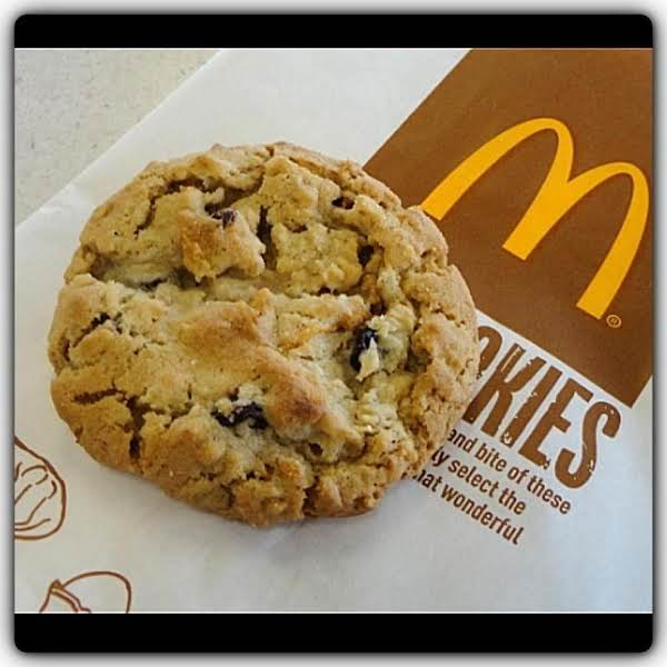 Mcdonald's Copycat Oatmeal Raisin Cookies Recipe