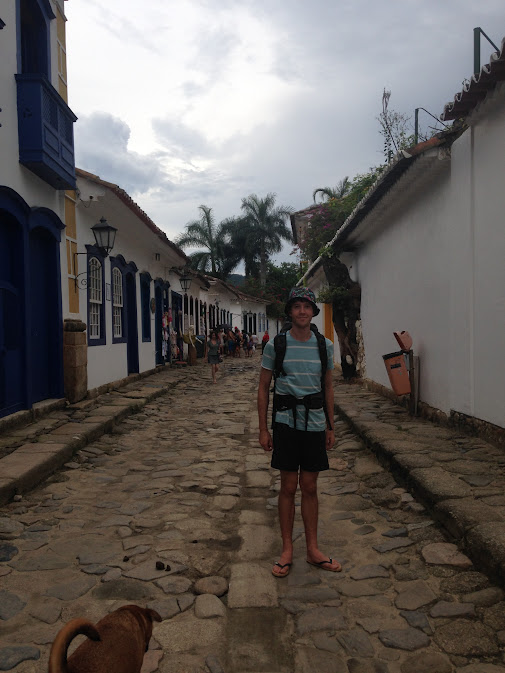 A street in Paraty