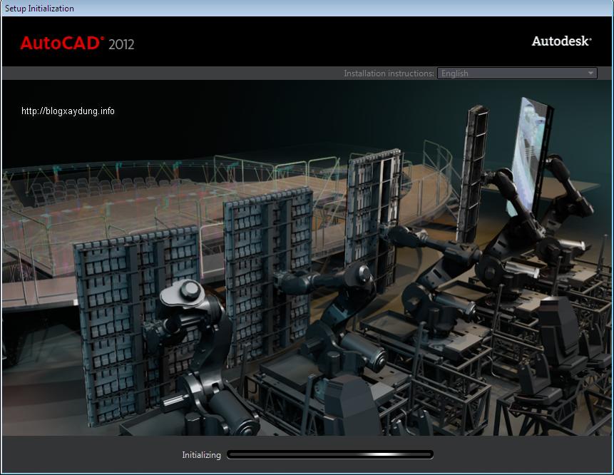6 Hướng dẫn cài đặt và Active AutoCAD 2012   Full bằng hình ảnh.