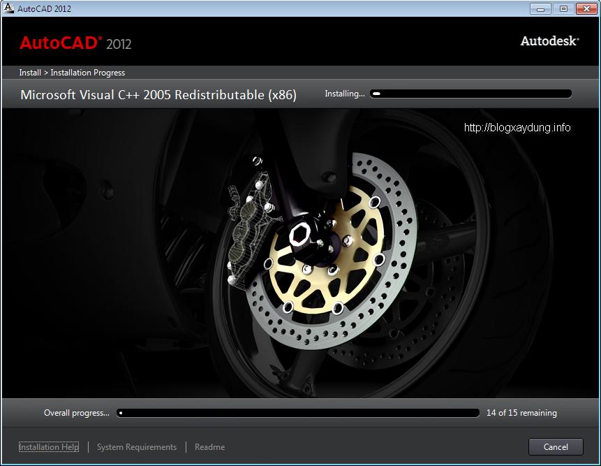 10 Hướng dẫn cài đặt và Active AutoCAD 2012   Full bằng hình ảnh.