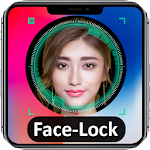 Face Screen lock Prank Icon