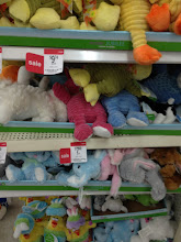 Photo: There were plenty of plush toys to choose from and they were all on SALE!