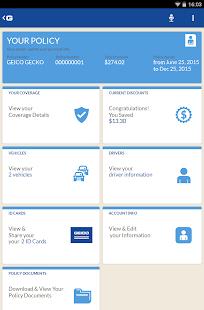 GEICO Mobile - screenshot thumbnail