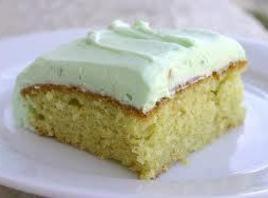 Mom's Pistachio Cake Recipe