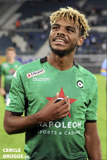 Lyle Foster. / CERCLE BRUGGE / TWITTER