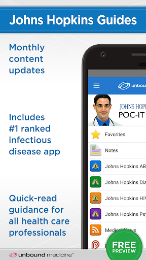Johns Hopkins Guides ABX... screenshot for Android