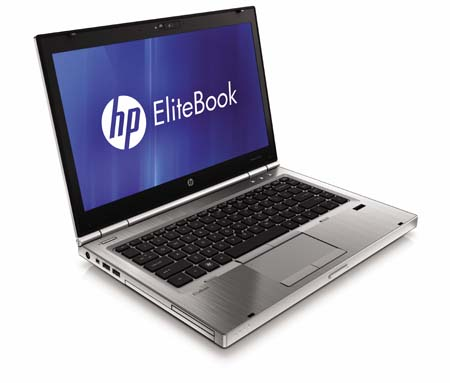 HP EliteBook p series front left open1 A 32 Hours Battery Life Laptop, HP EliteBook 8460p