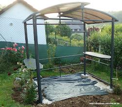 Photo: erste Bepflanzungen sind da.....