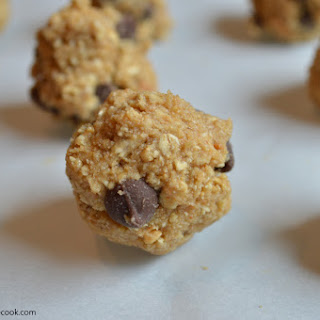 Clean Eating Chocolate Chip Cookie Dough Bites.