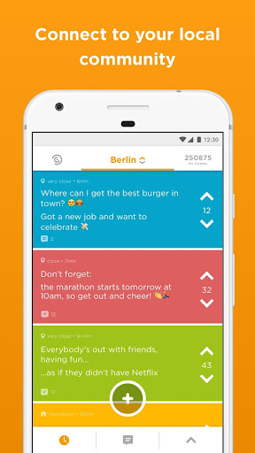 Jodel - Hyperlocal Community 5.98.2 screenshots 1