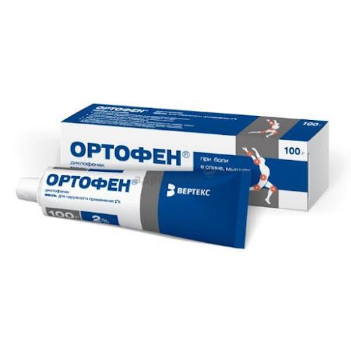 Ортофен мазь д/нар. прим. 2% 100г