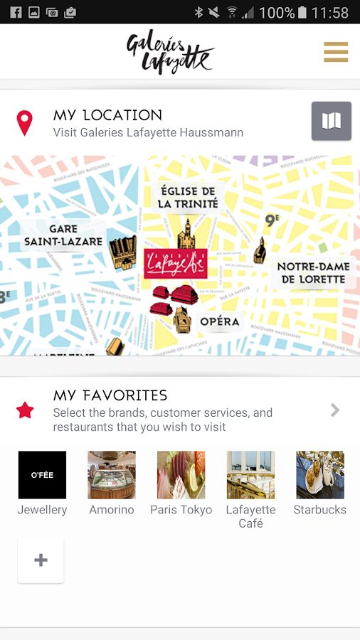 galeries lafayette haussmann applications android sur google play. Black Bedroom Furniture Sets. Home Design Ideas