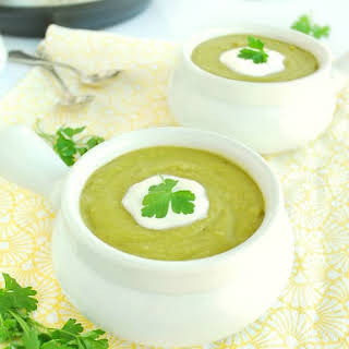 5 Minute Split Pea Soup (Gluten free, GAPS).