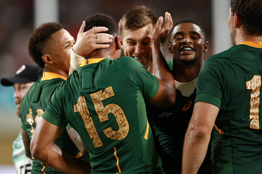World Cup diary: An entire country' if not the rugby world' wants to send the Boks packing