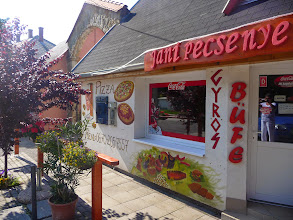 Photo: Buffet, take away in Velence, Hungary.