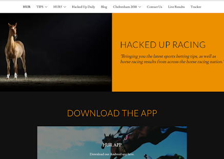 Hacked Up Racing ( Horse Racing Tips ) - náhled