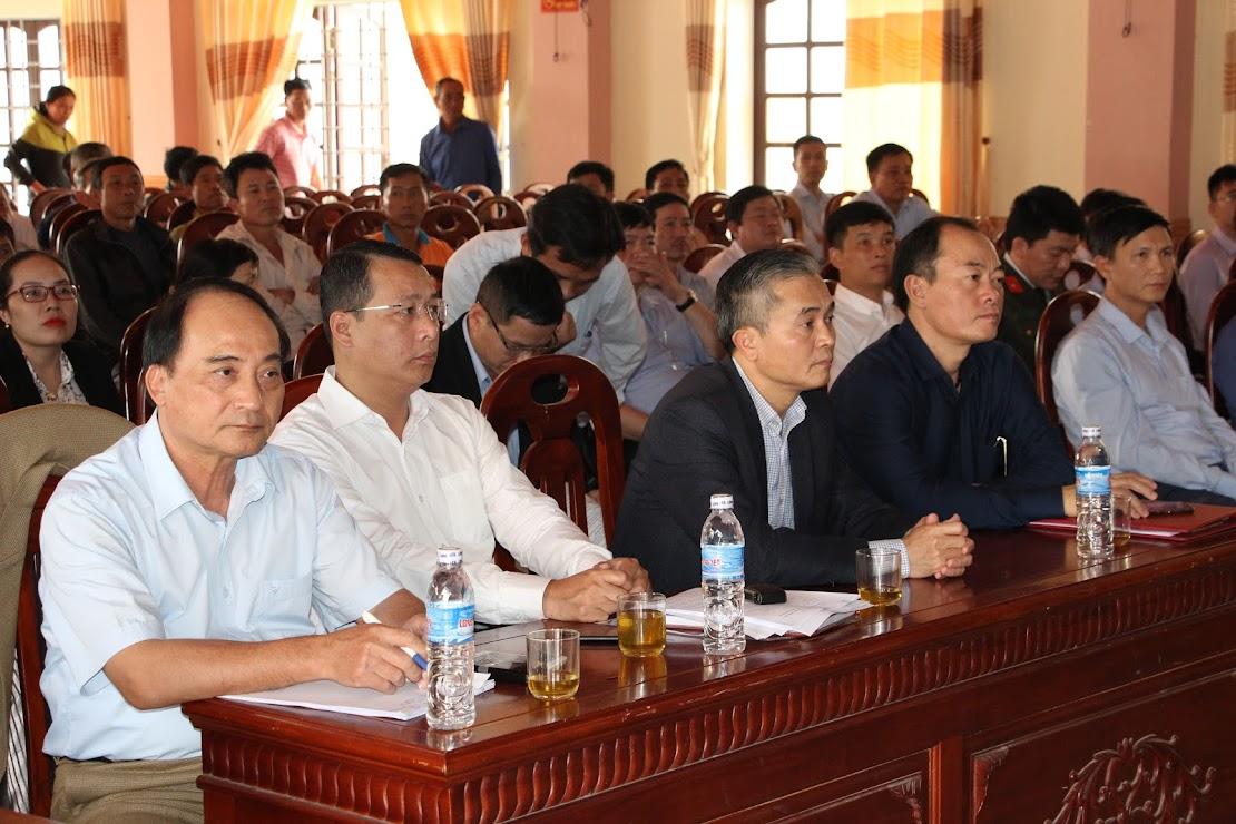 Đại biểu tham dự buổi đối thoại