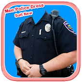 Men Police Dress Suit New
