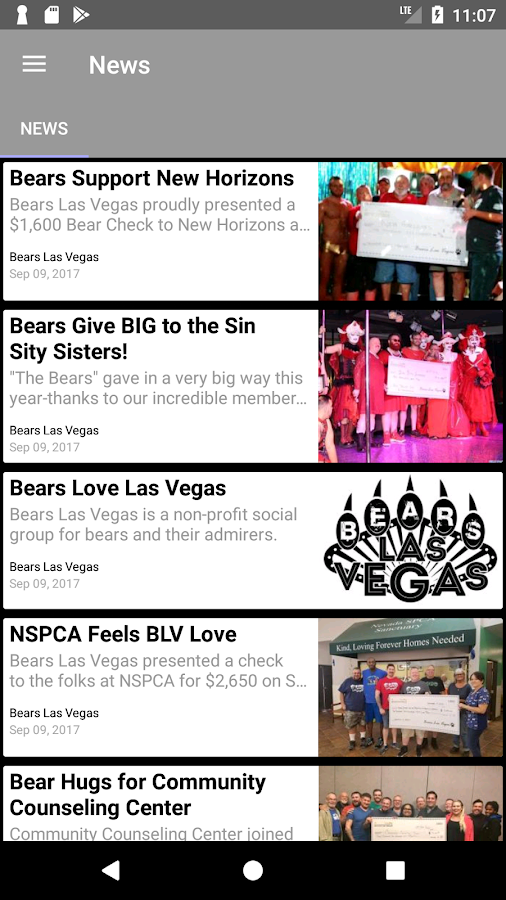 Bears Las Vegas- screenshot