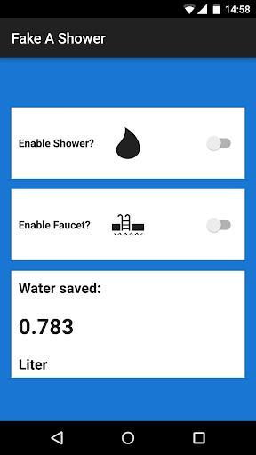 Fake A Shower
