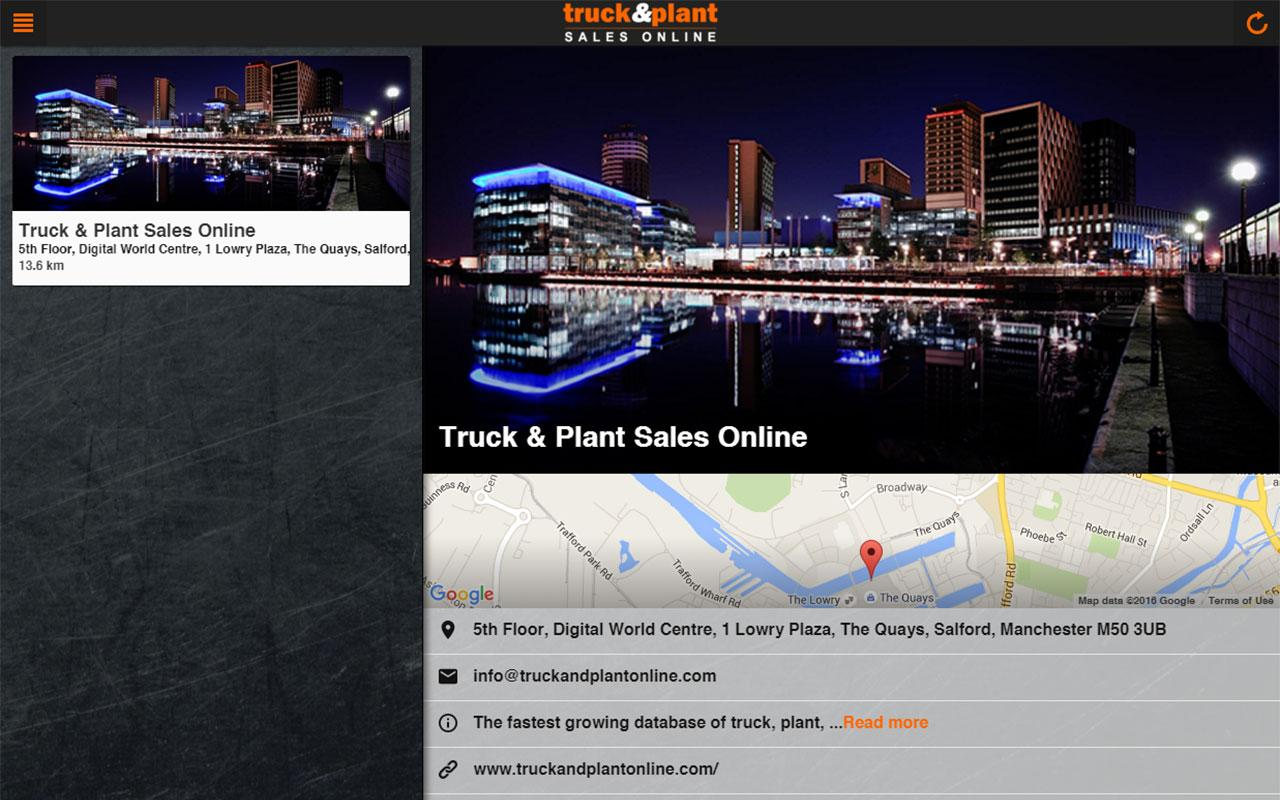 Truck & Plant Sales Online- screenshot