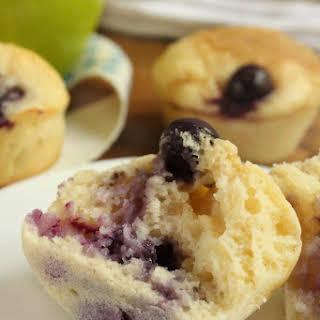 Blueberry Banana Mini Muffins.