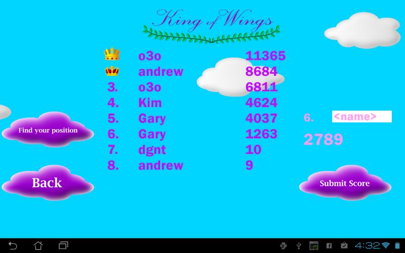 Скриншот King of Wings