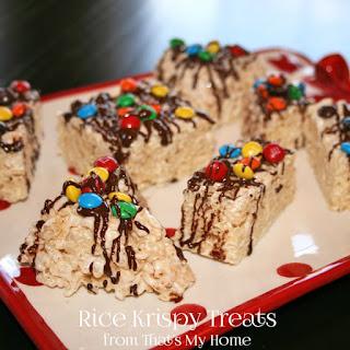 Rice Krispy Treats.
