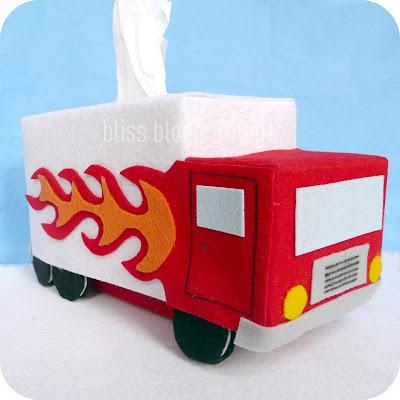 Achoo felt tissue paper covers for Tissue box cover craft