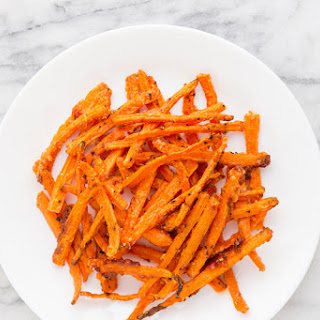 Crispy Carrot Fries from Martha Stewart's Vegetables.